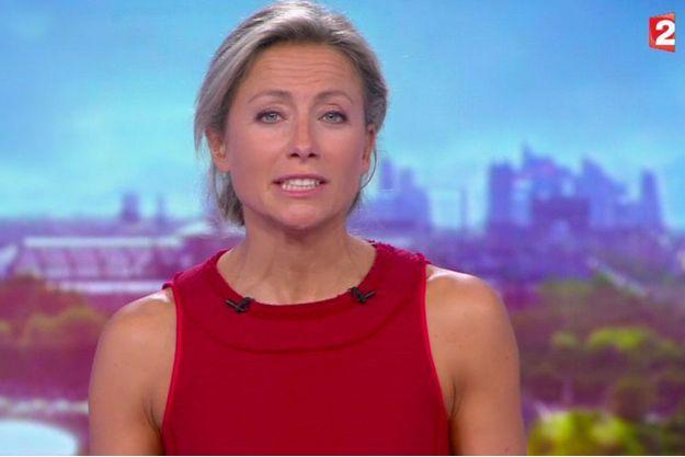 Anne-Sophie Lapix sur France 2 lundi soir.