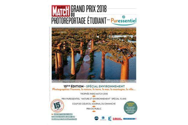 L'affiche du Grand Prix du photoreportage étudiant 2018.