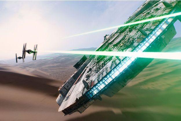Des images de l'épisode VII qui sort au cinéma le 18 décembre 2015.