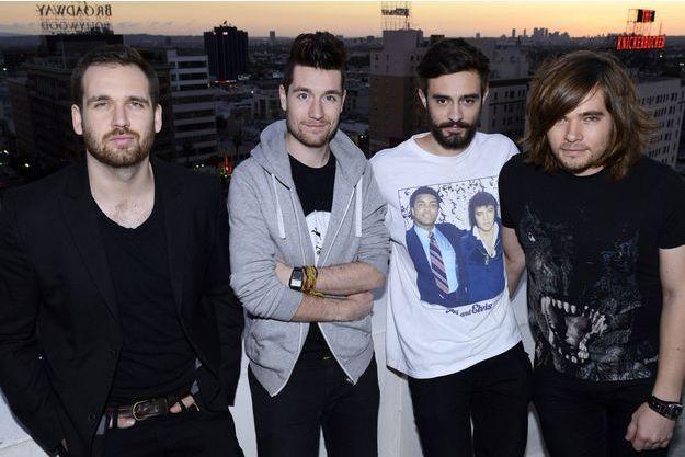 Le groupe Bastille à Los Angeles en février 2014.