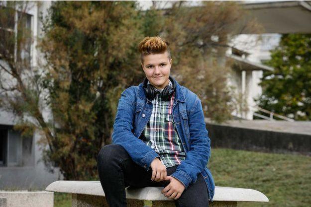 Isaac, 14 ans.