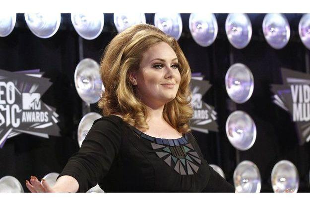 Adele présente à la cérémonie des Golden Globes