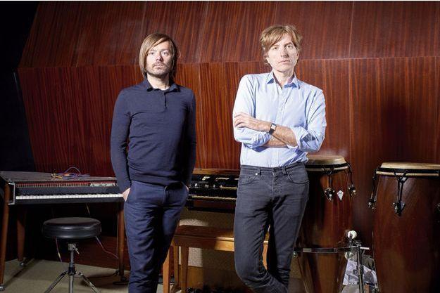 Jean-Benoît Dunckel et Nicolas Godin du groupe Air.