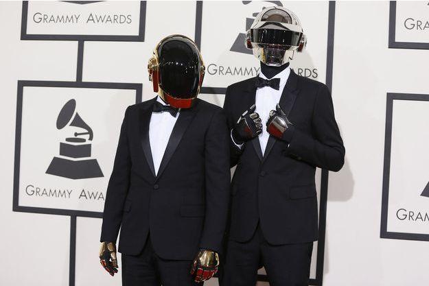 Daft Punk aux Grammy Awards 2014.