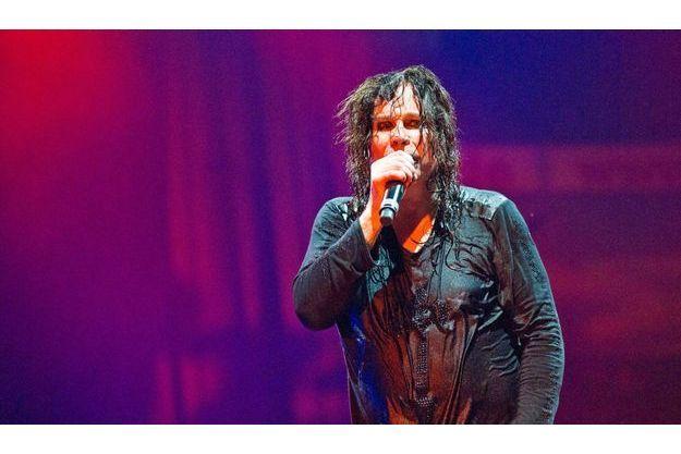 Ozzy Osbourne sur scène à Dortmund, en 2012.