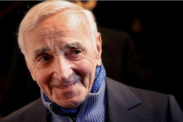 Charles Aznavour va recevoir, à 93 ans, une étoile sur le Walk of Fame.