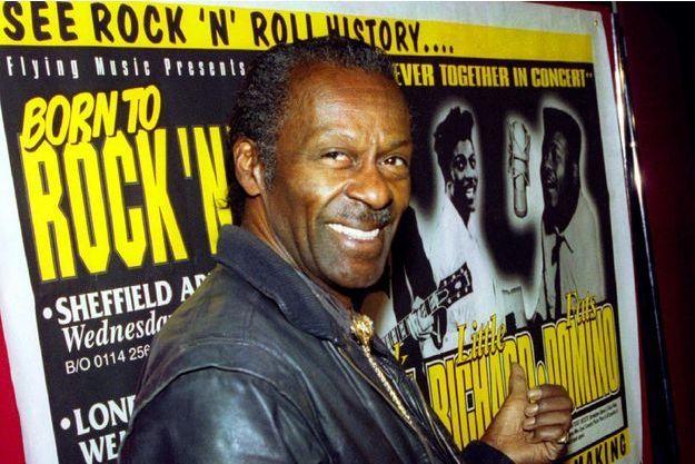 Chuck Berry, en 1995.