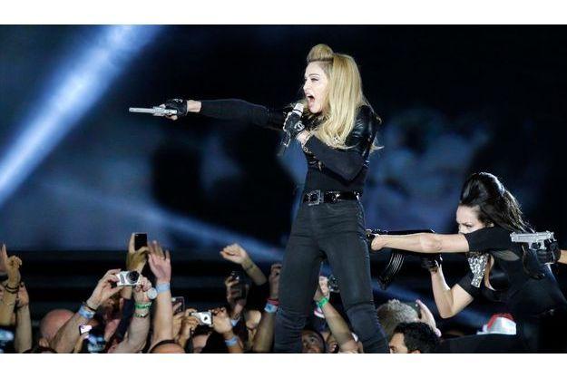 Madonna au Stade de France, le 14 juillet.