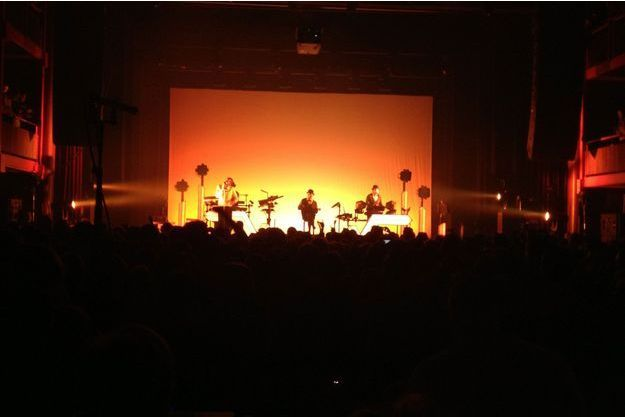 Stromae sur scène, mercredi soir.