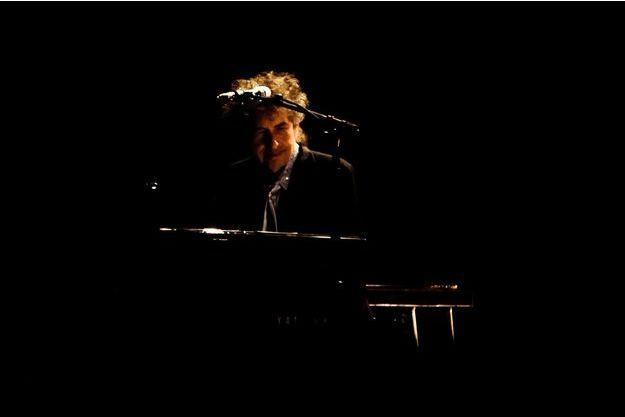 Bob Dylan, en concert en novembre dernier à Londres.