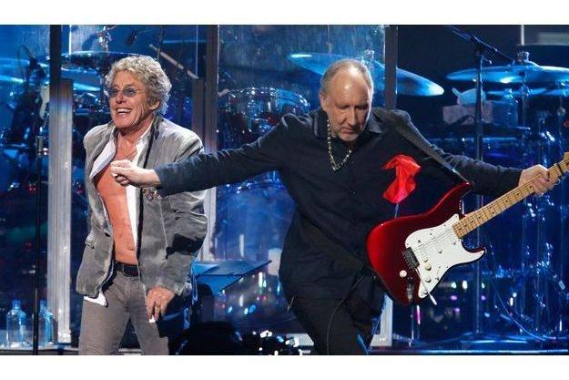 """The Who"" lors du concert pour les victimes de l'ouragan Sandy (photo d'illustration)."