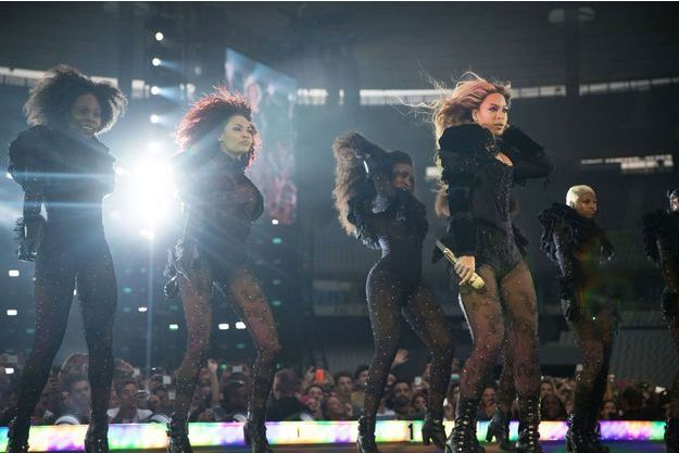 Beyoncé au Stade de France, jeudi soir.