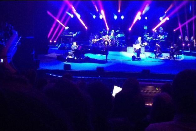 Elton John était à Paris lundi soir.