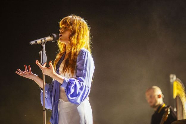 Florence + the Machine était au Zénith mardi soir