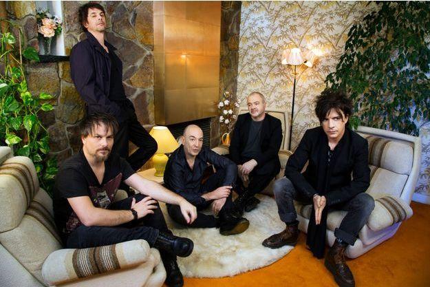 Le groupe lors d'une séance photo en février dernier.