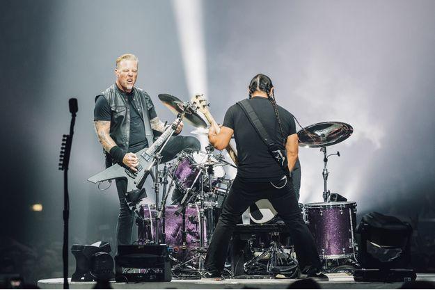 Metallica, vendredi soir à l'Accorhotels Arena.