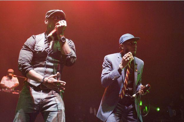 Black Star, alias Talib Kweli et Mos Def, ici en 2011.