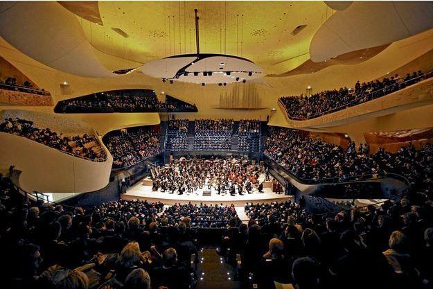 L'Orchestre de Paris, dirigé par le chef estonien Paavo Järvi, le 14janvier. Au programme, la France à l'honneur: Henri Dutilleux, Gabriel Fauré, Maurice Ravel et Thierry Escaich.