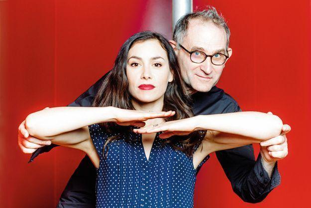 Olivia Ruiz et le chorégraphe Jean-Claude Gallotta