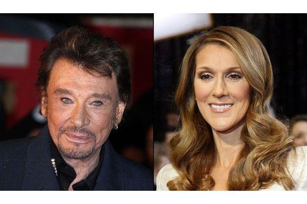 Johnny Hallyday et Céline Dion vont partager un duo.