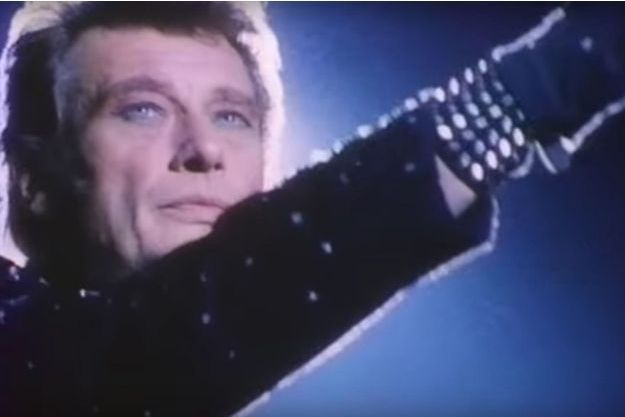 """Image extraite du clip """"Le chanteur abandonné""""."""