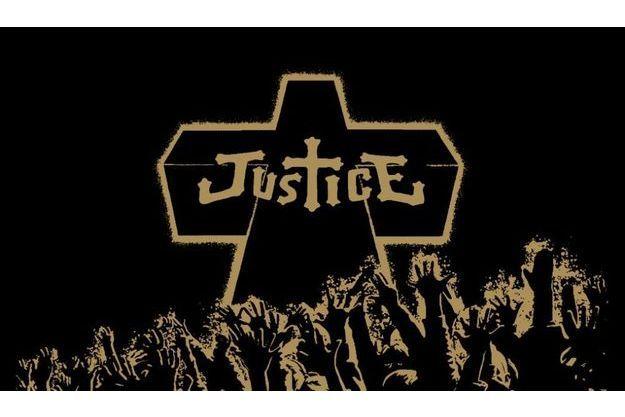 Un artwork du groupe Justice.
