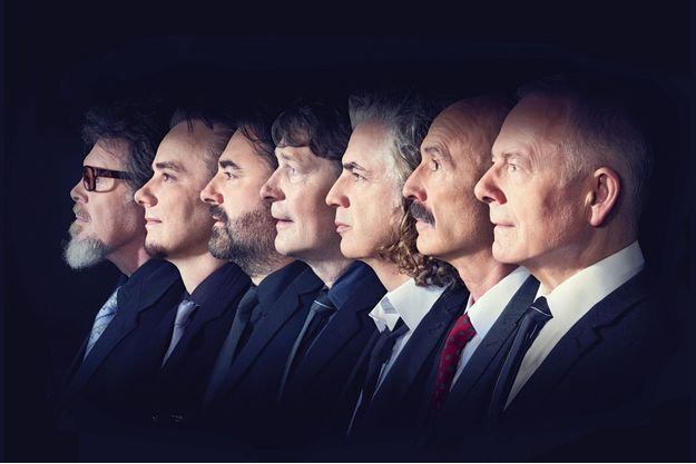 Les sept membres de King Crimson