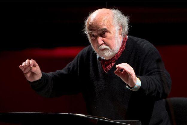 Le chef d'orchestre Jean-Claude Malgoire est décédé à l'âge de 77 ans (ici en janvier 2017).