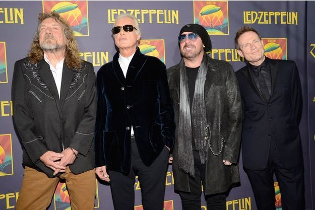 Led Zeppelin en 2009.