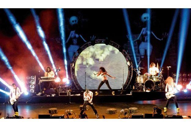 Shaka Ponk, des concerts à grand spectacle