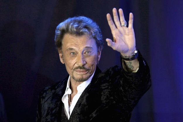 Johnny Hallyday à Paris en mars 2011