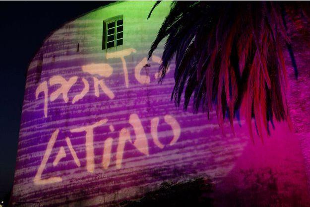 La Citadelle de Saint-Florent, aux couleurs du festival Porto Latino