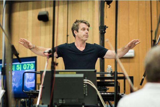 Harry Gregson Williams dans les studios Abbey Road, à Londres.