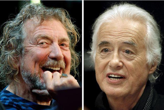 Robert Plant et Jimmy Page tirés d'affaire.