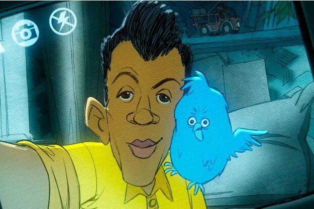 Stromae devient un personnage de dessin animé pour dénoncer l'addiction aux réseaux sociaux.