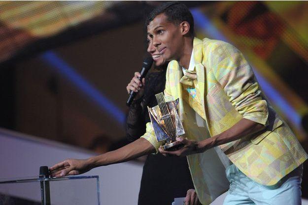 Stomae a remporté trois Victoires de la Musique.