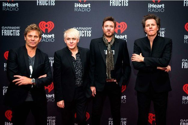 Le groupe Duran Duran.