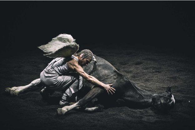 """""""On achève bien les anges (élégies)"""", dernière folie équestre du théâtre équestre Zingaro."""