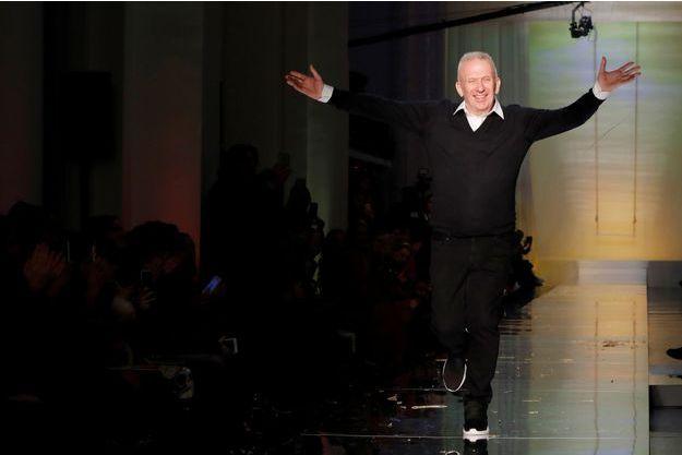 Jean Paul Gaultier, en janvier 2017.