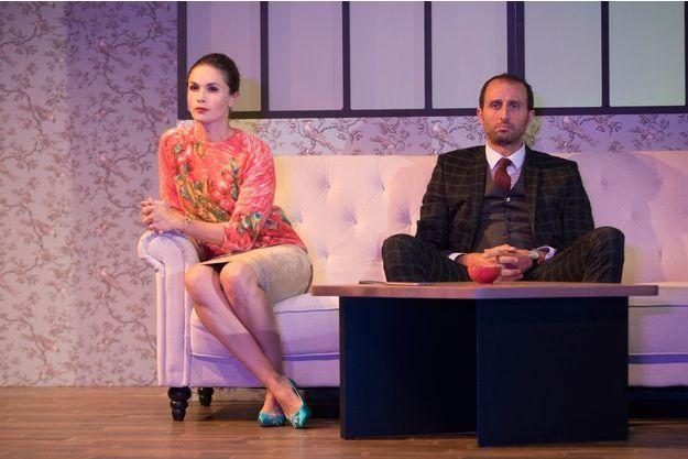 Barbara Schulz et Arié Elmaleh dans «La Perruche».