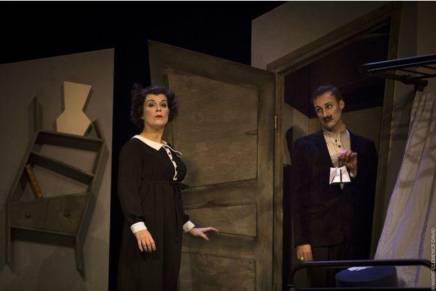 """""""Le crime de l'orpheline"""", au théâtre Ranelagh."""