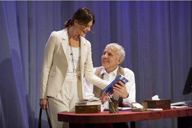 "PPDA avec Alexandra Kazan dans ""Garde alternée"" au théâtre des Mathurins."