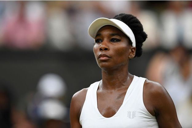 Venus Williams à Wimbledon, le 11 juillet dernier.