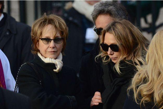 Nathalie Baye et Laura Smet à la Madeleine, le 9 décembre 2017.