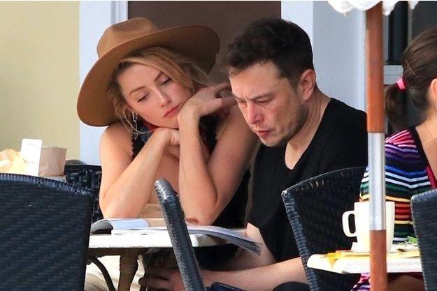 Amber Heard et Elon Musk à Los Angeles, novembre 2017
