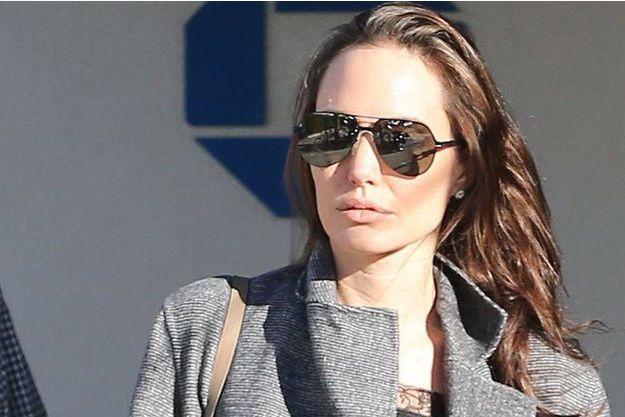 Angelina Jolie à Malibu, en janvier 2017.