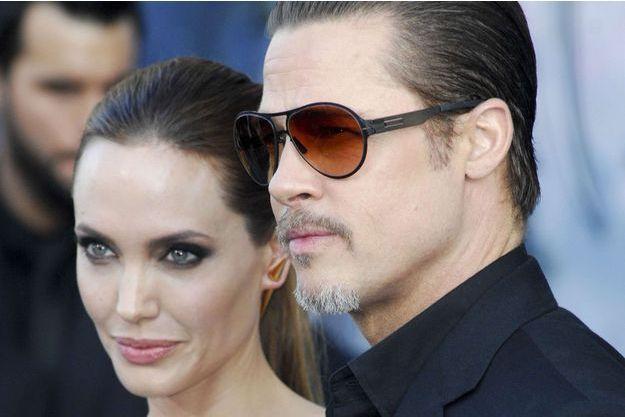 Angelina Jolie et Brad Pitt en mai 2014.