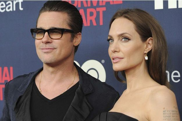 Angelina Jolie et Brad Pitt en 2014.