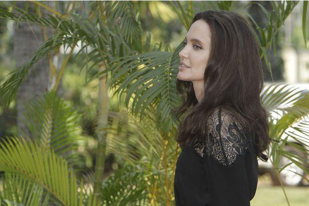 Angelina Jolie au Cambodge, mars 2017.