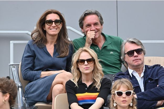 Roland Anne Compagnon Claire À Garros Avec Son CoudrayRayonnante cSAjq4R3L5